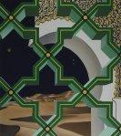 """""""Grinze nel tempo n°4″, 90×80 cm., tecnica mista"""
