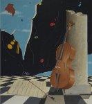 """""""Serenata"""", 80x70 cm., tempera acrilica"""